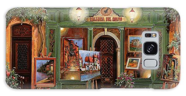 Crow Galaxy S8 Case - La Galleria Del Corvo by Guido Borelli