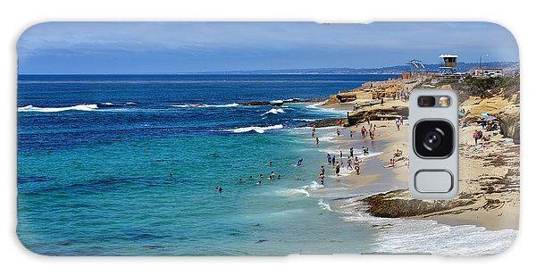 La Jolla Beach Galaxy Case