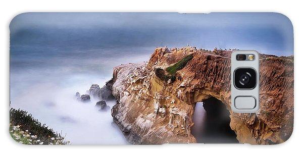 Long Exposure Galaxy Case - La Jolla Cove by Larry Marshall