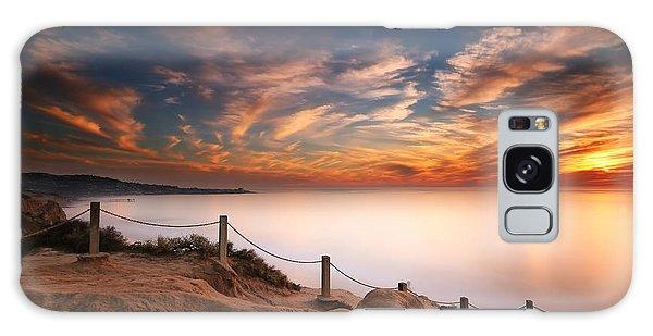 Sun Galaxy Case - La Jolla Sunset by Larry Marshall