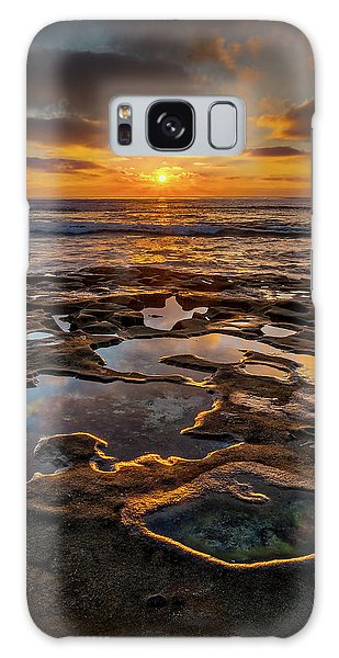 La Jolla Tidepools Galaxy Case by Peter Tellone