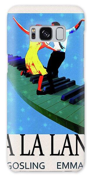 Gosling Galaxy Case - La La Land Movie Poster by Dan Sproul