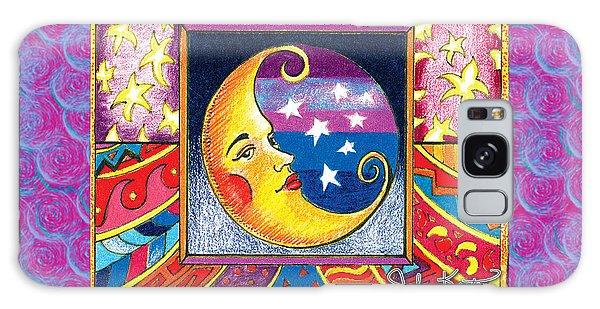 La Luna 1 Galaxy Case by John Keaton