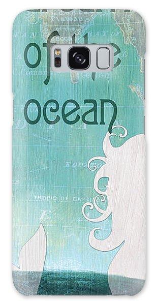 Mythology Galaxy Case - La Mer Mermaid 1 by Debbie DeWitt
