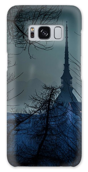 La Mole Antonelliana-blu Galaxy Case