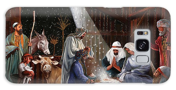 Joseph Galaxy Case - La Nativita' by Guido Borelli