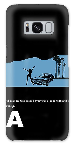La Night Poster Galaxy Case by Naxart Studio