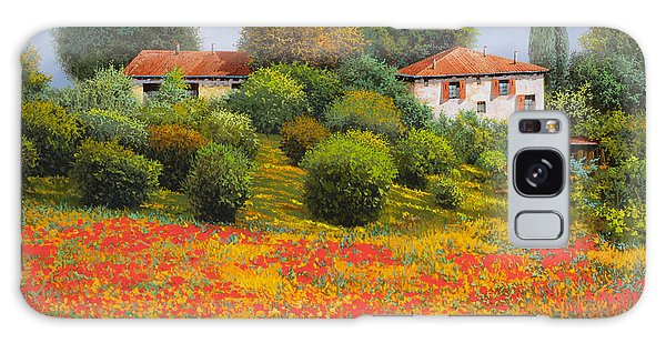 Rural Scenes Galaxy S8 Case - La Nuova Estate by Guido Borelli