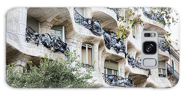 La Pedrera Casa Mila Gaudi  Galaxy Case