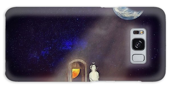 Galaxy Case featuring the digital art La Petite Princesse by John Haldane