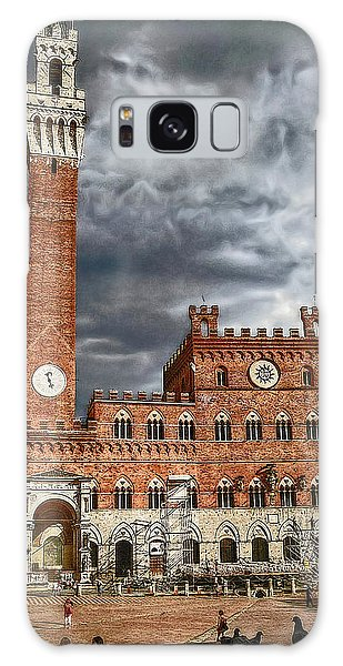 La Piazza Galaxy Case by Hanny Heim