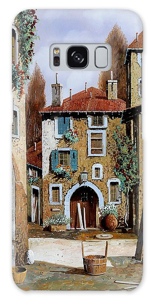 Basket Galaxy Case - La Piazzetta by Guido Borelli