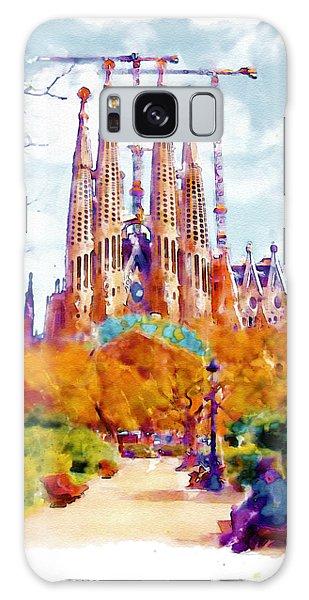 La Sagrada Familia - Park View Galaxy Case by Marian Voicu