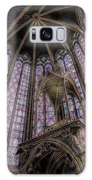 Paris, France - La-sainte-chapelle - Apse And Canopy Galaxy Case