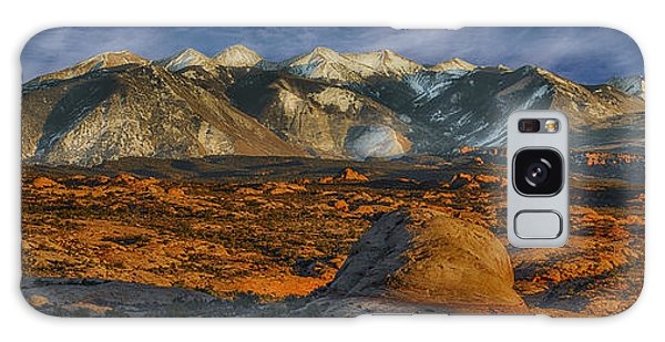 La Sal Mountain View Galaxy Case by Wendell Thompson