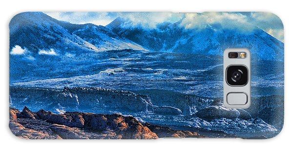 La Sal Mountains Arches National Park Galaxy Case