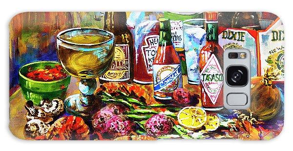 Table Galaxy Case - La Table De Fruits De Mer by Dianne Parks