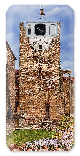 Clock Galaxy Case - La Torre Del Carmine-montecatini Terme-tuscany by Guido Borelli