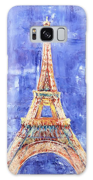 La Tour Eiffel Galaxy Case