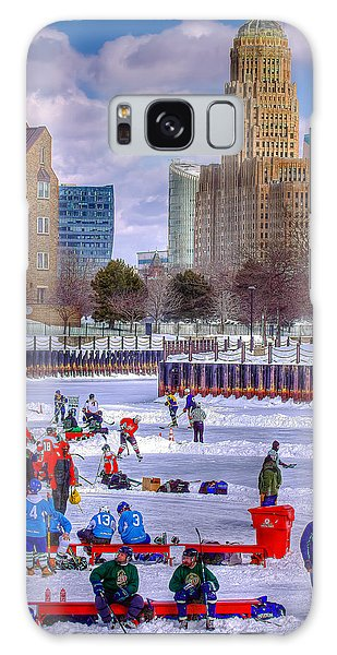 Labatts Pond Hockey Galaxy Case
