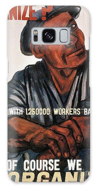 Labor Poster, 1930s Galaxy Case