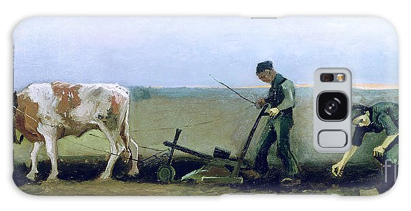 Whip Galaxy Case - Labourer And Peasant  by Vincent van Gogh