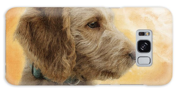 Labradoodle Puppy Galaxy Case