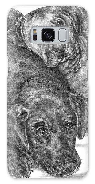 Labrador Dogs Nap Time Galaxy Case