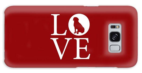 Labrador Love Red Galaxy Case