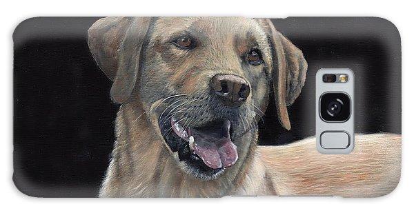Labrador Portrait Galaxy Case