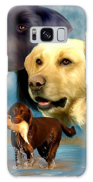 Labrador Retrievers Galaxy Case