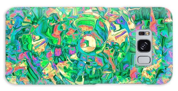 Labrynth Greens Galaxy Case