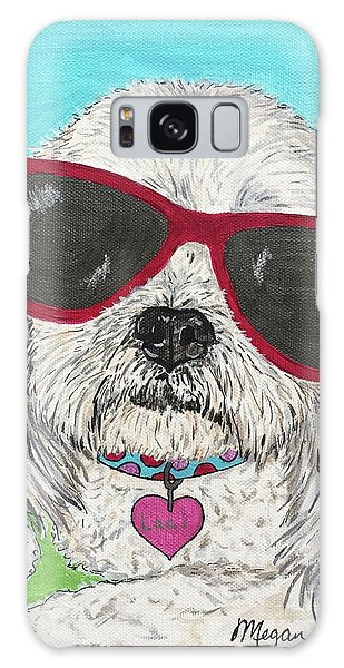 Galaxy Case - Laci With Shades by Megan Cohen