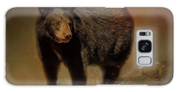 Black Bear In The Fall Galaxy Case