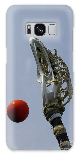Lacrosse Stick And Ball Galaxy Case