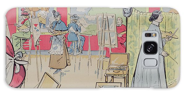 Amateur Galaxy Case - Ladies Attending A Painting Class, 1902 by E Thelem