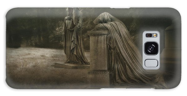 Cemetery Galaxy Case - Ladies Of Eternal Sorrow by Tom Mc Nemar