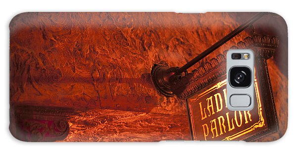 Ladies Parlor Sign Galaxy Case by Carolyn Marshall