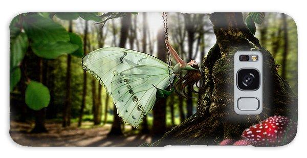Lady Butterfly Galaxy Case