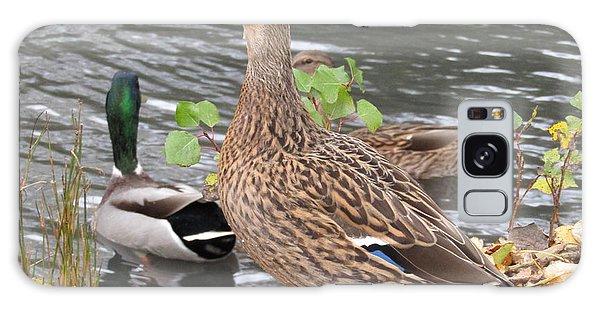 Lady Duck Galaxy Case