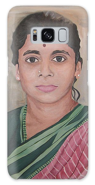 Lady From India Galaxy Case