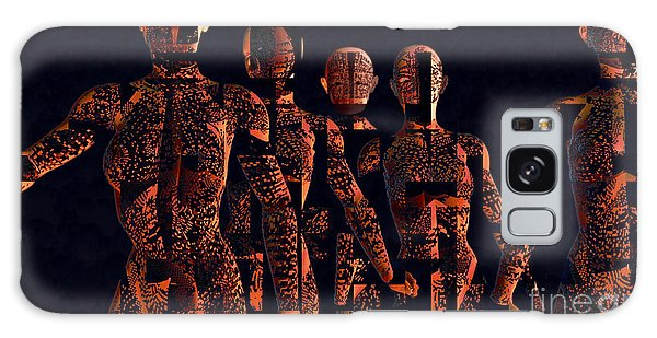 Galaxy Case featuring the photograph Lady Hunters by Luc Van de Steeg