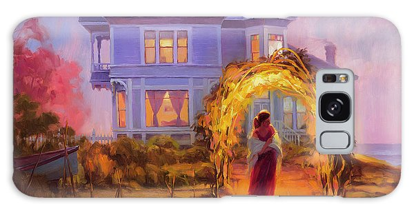 Ocean Sunset Galaxy S8 Case - Lady In Waiting by Steve Henderson
