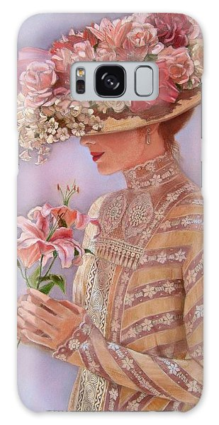 Lady Jessica Galaxy Case by Sue Halstenberg