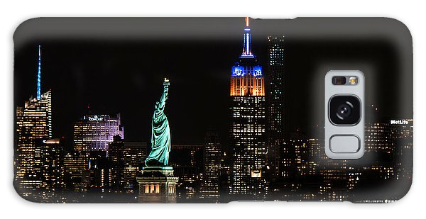 Empire State Galaxy Case - Lady Liberty And The Empire by Ryan Smith