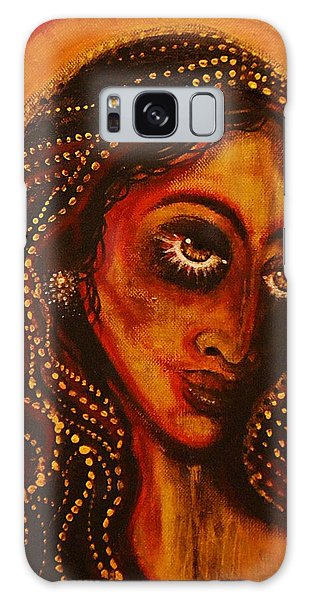 Lady Of Gold Galaxy Case