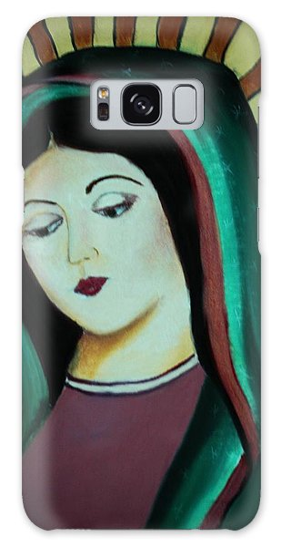 Lady Of Guadalupe Galaxy Case