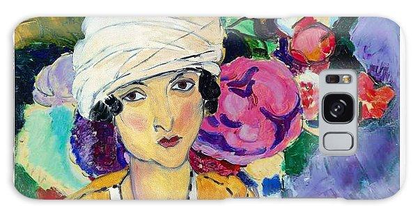Galaxy Case - Lady Of Le Piviones by Laura Botsford