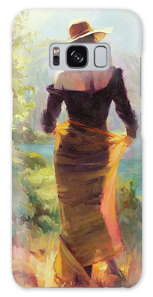 Modern Galaxy Case - Lady Of The Lake by Steve Henderson