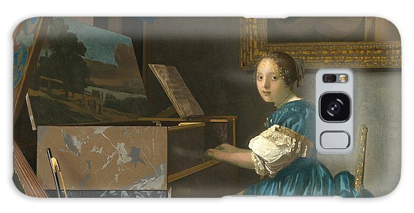 Lady Seated At A Virginal Galaxy Case